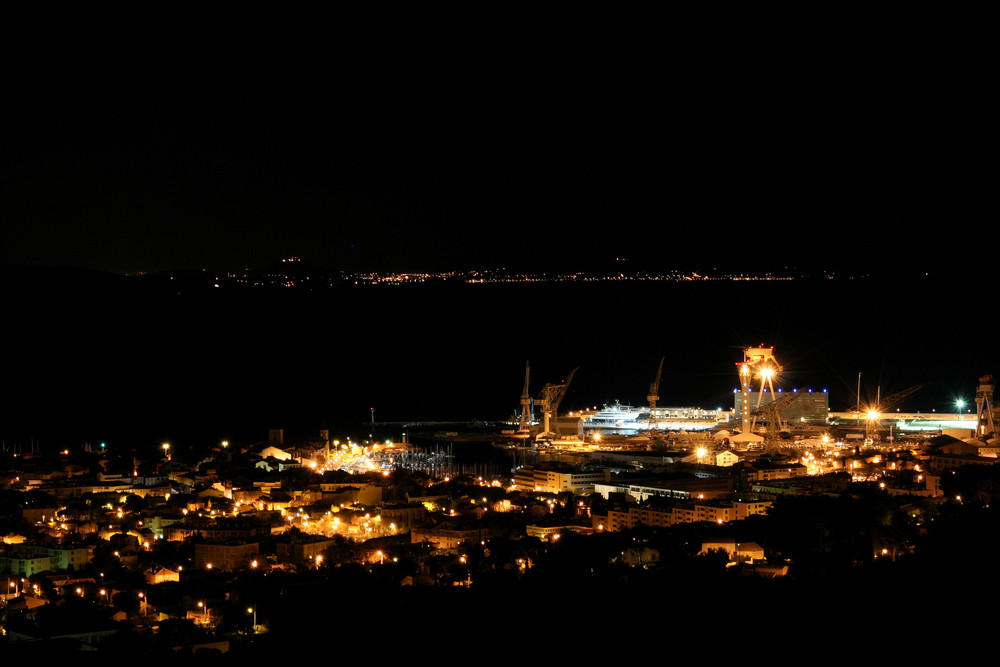 La Ciotat - By Night