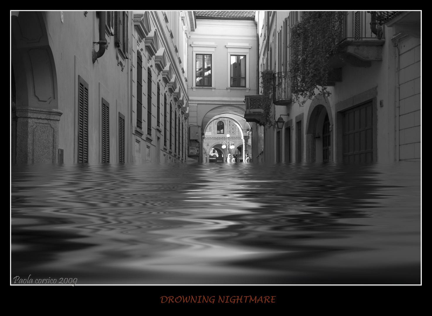 La città sommersa - (Drowning nightmare)