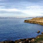 La côte à Marseille