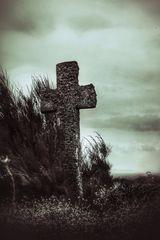 La croix au Point Saint Mathieu