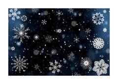 La danza della neve....