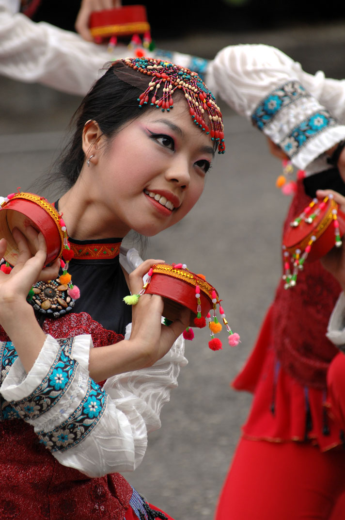 La danzatrice che sorride