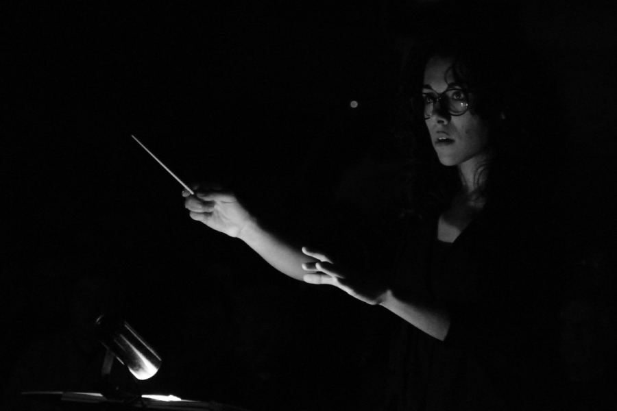 la Direttrice d'orchestra
