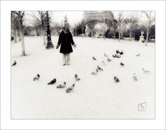 La donna che sussurrava ai piccioni :-)