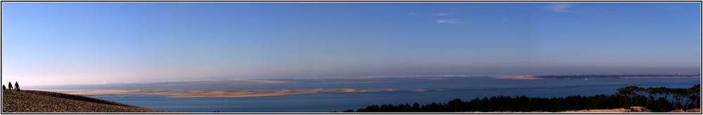 la dune du pyla et son bac d'arguin
