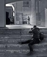 La dura vida del fotógrafo...
