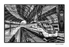 La estación... el tren!
