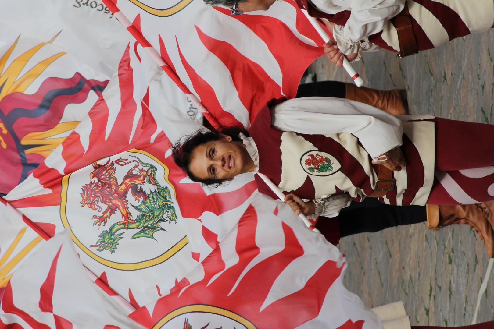 la festa di bandiere
