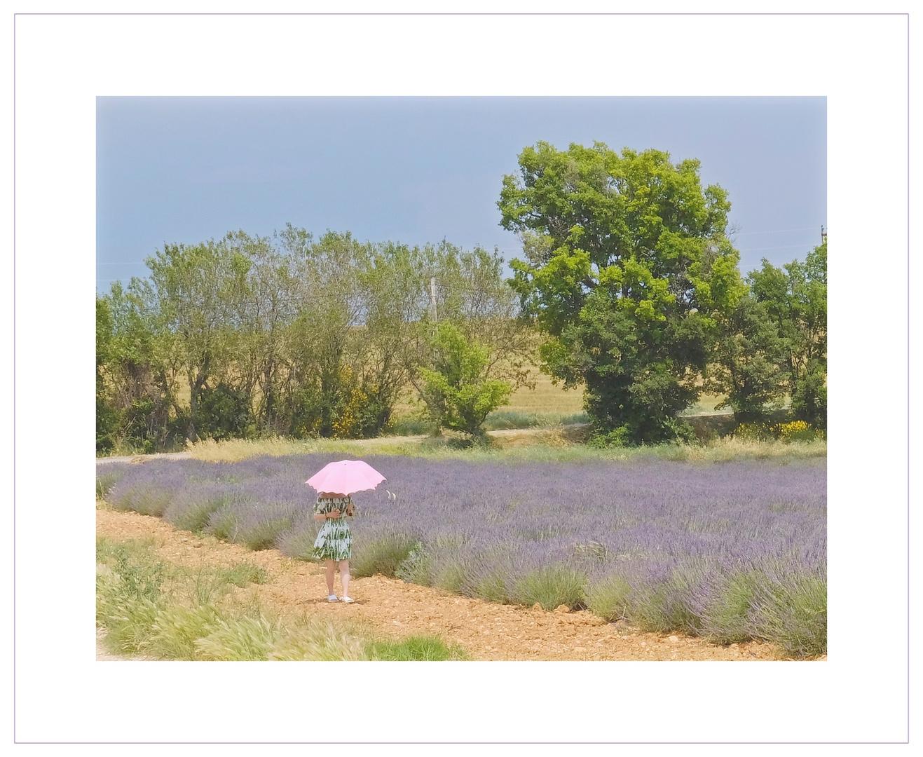 La fille e le parasole