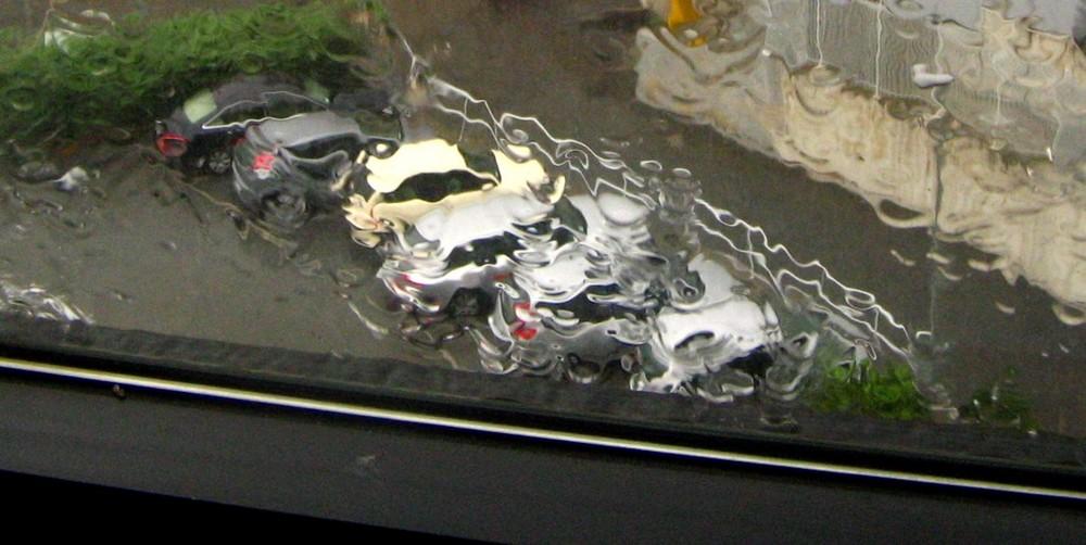 la finestra sul parcheggio