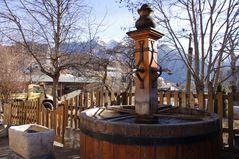 La fontaine de St Vincent les Forts