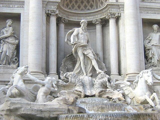 La fontaine de Trevie