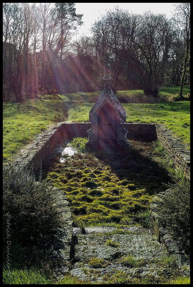 La Fontaine Saint Eloi, ce matin