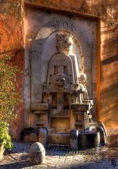 La fontana dei nasoni - Roma