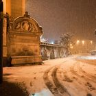 La Fontana del Vecchio Sotto la neve