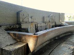 La fontana dell'arsenale...