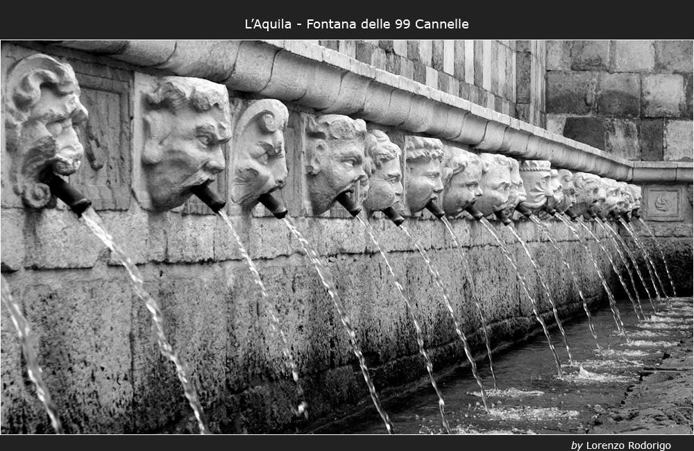 La fontana delle 99 Cannelle