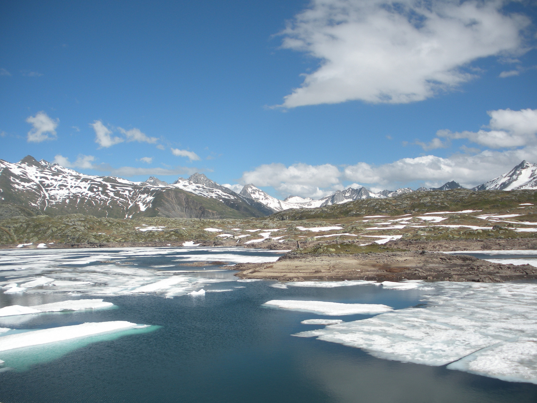 La fonte des lacs gelés