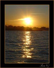 La forza di un tramonto.....