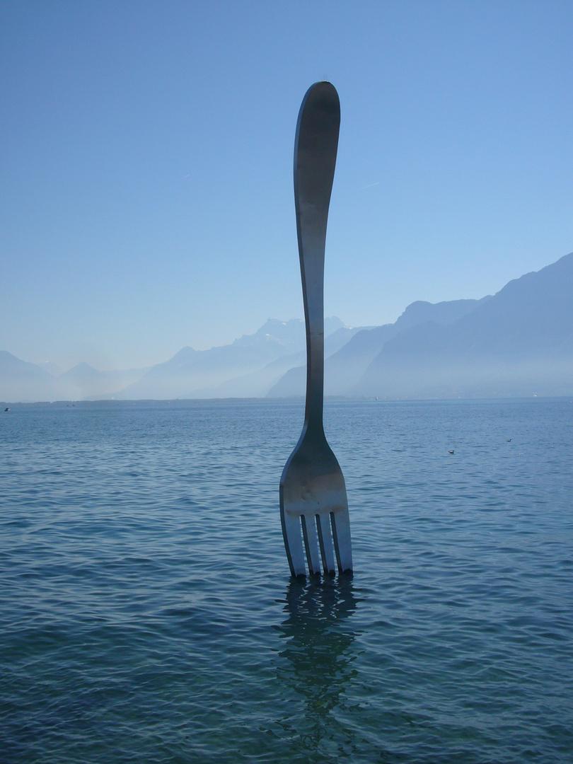 la fourchette