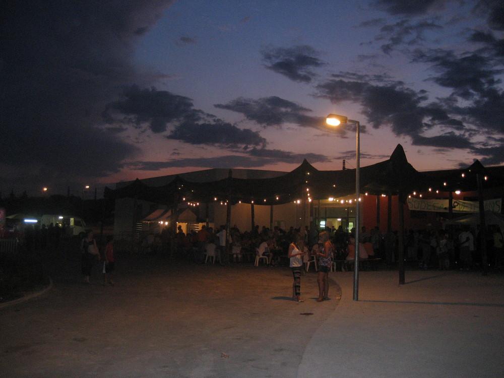 La fête à Uchaud