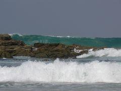 La fuerza del mar...