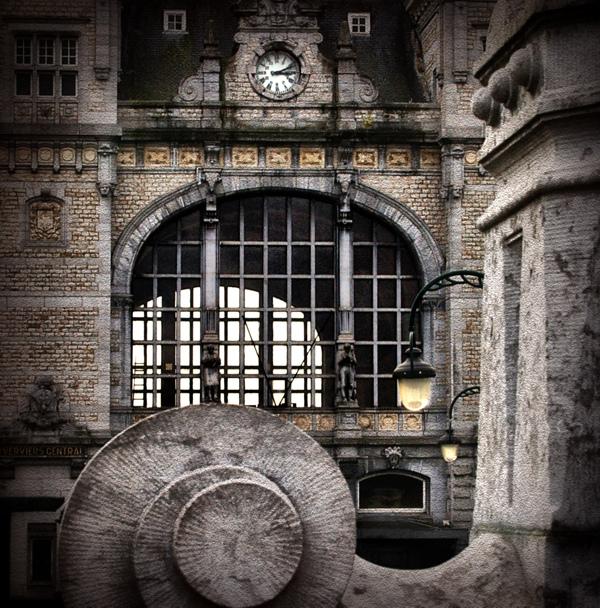 La gare centrale de Verviers