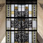 La Gascogne et la Bretagne et un des vitraux *