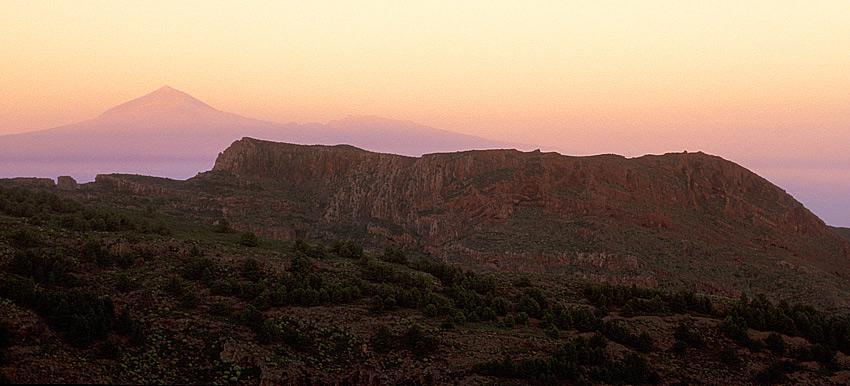 La Gomera - Blick auf den Teide
