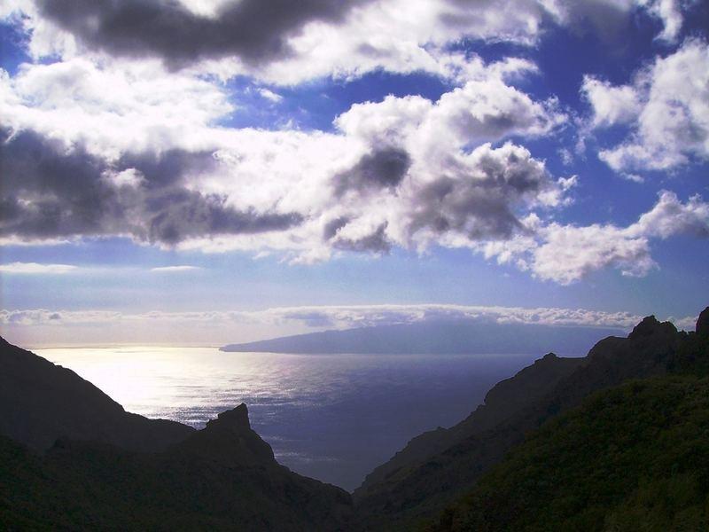 La Gomera desde Tenerife.