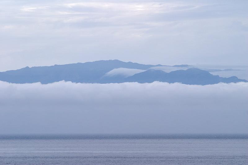 La Gomera im Nebel