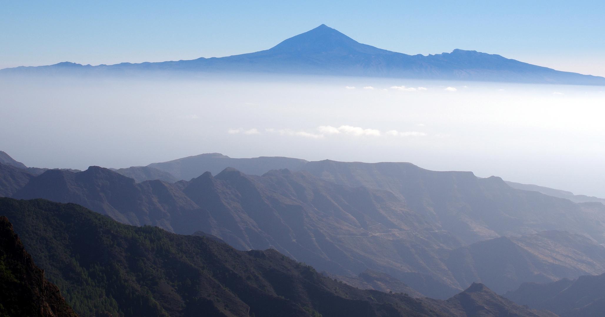La Gomera - immer gerne mit schönem Teide-Blick