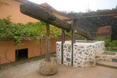 La Gomera: Weinkelter