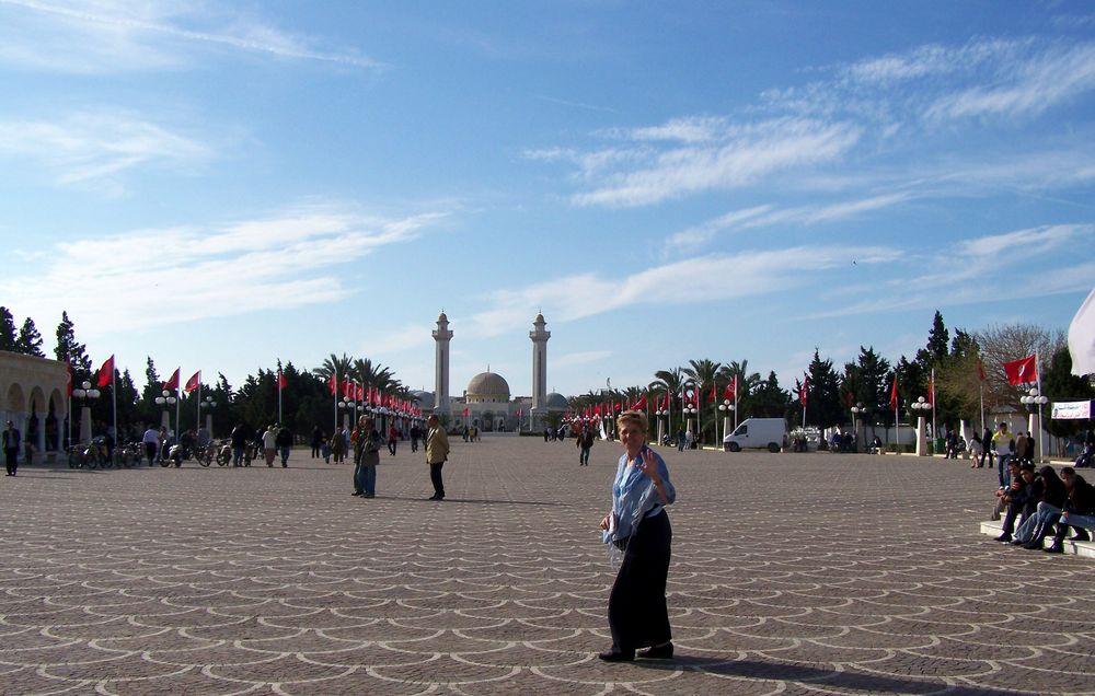 La grande allée .... Tunisie ....