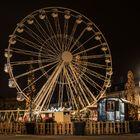 la Grande roue de Noël à Nancy