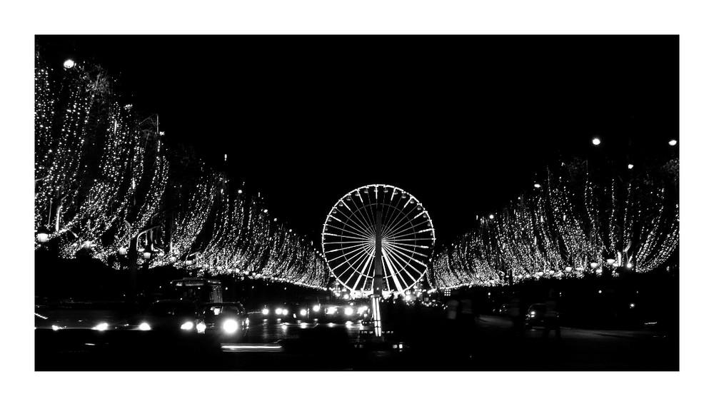 La grande roue de Paris à Noël