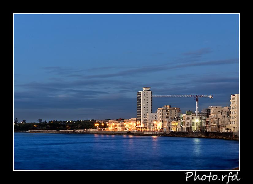 La Habana al anochecer
