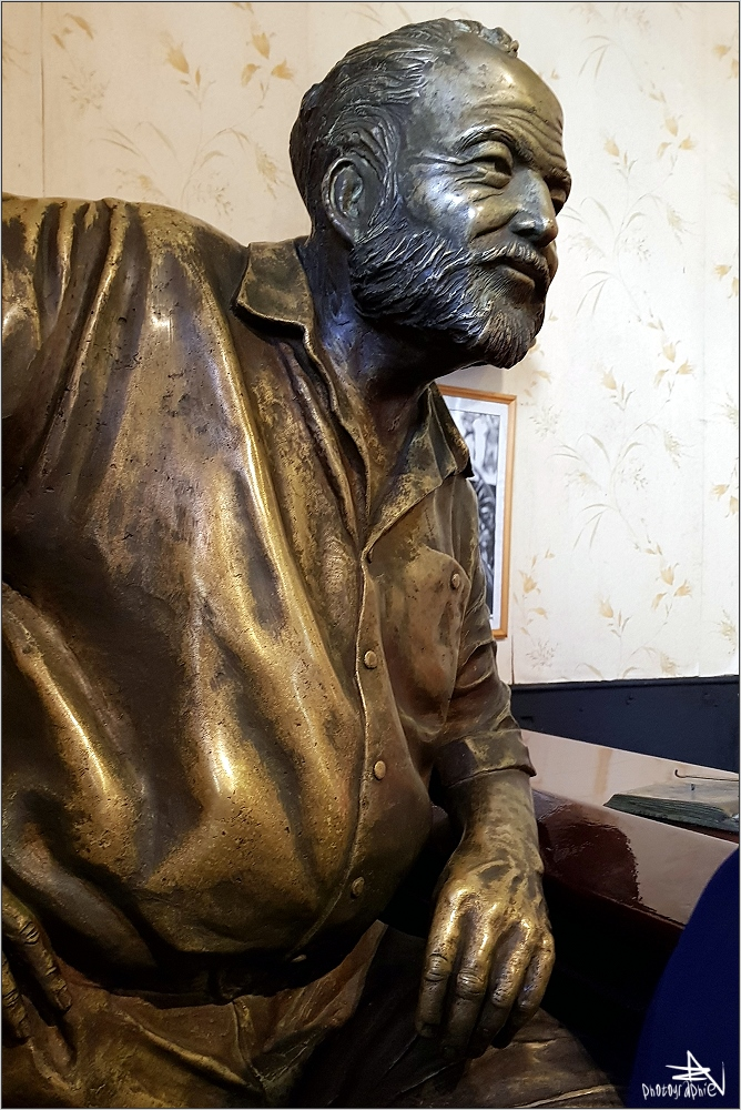 La Havane - Hemingway dans son stamm