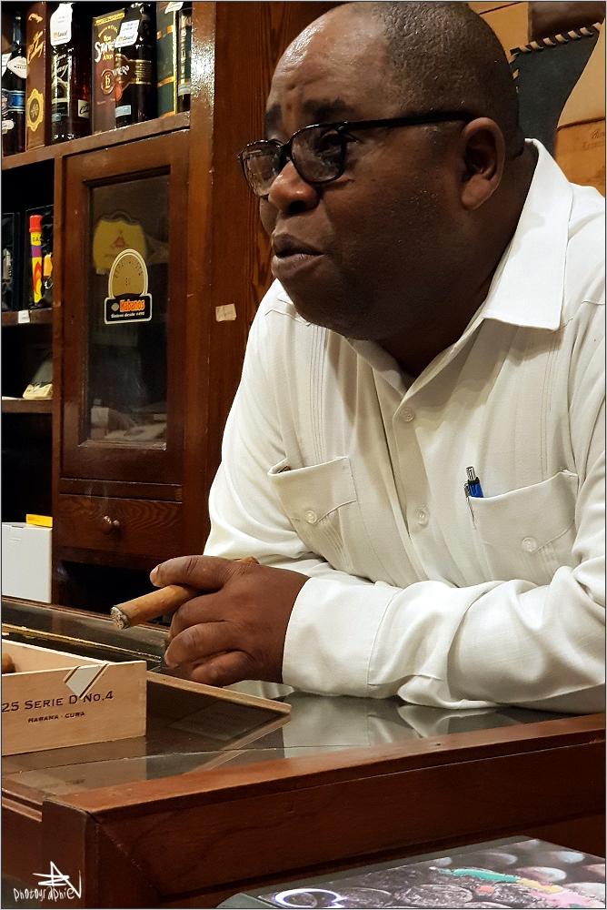 La Havane - Marchand de cigares