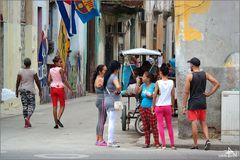 La Havane - Scène de rue