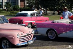 La Havane - Tour de ville en vieille voiture
