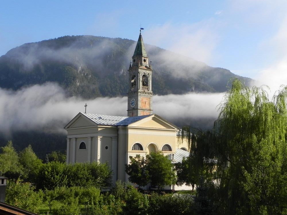 la iglesia de agostino,tione de trento