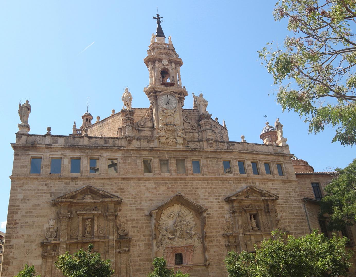 La Iglesia de los Santos Juane in Plaza Mercado Valencia
