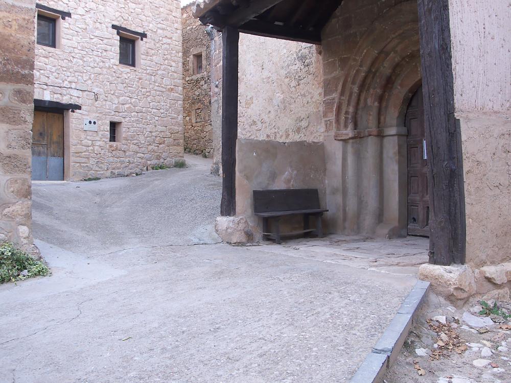 La iglesia rural