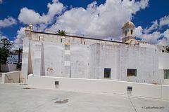La Iglesia Santo Espiritu von hinten