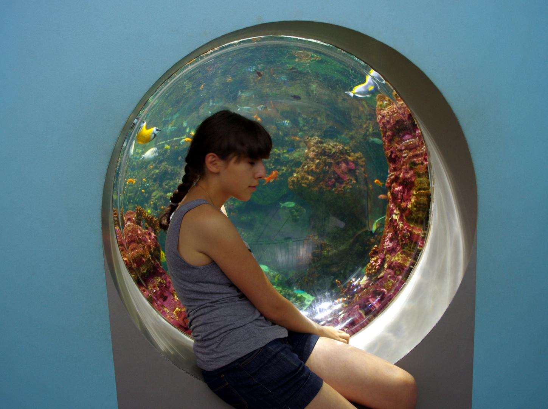 La jeune fille et la mer .....