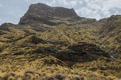 la Laja del Risco, Barranco de Guayedra - Gran Canaria (Spanien)