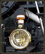 La lanterne de la locomotive