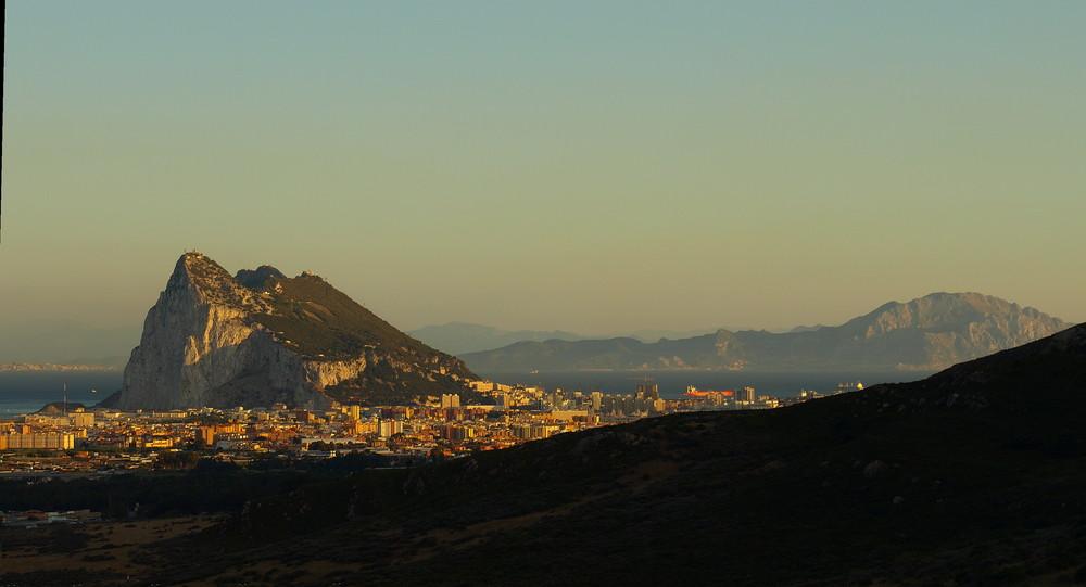 La Linea de la Concepción (Peñon de Gibraltar)