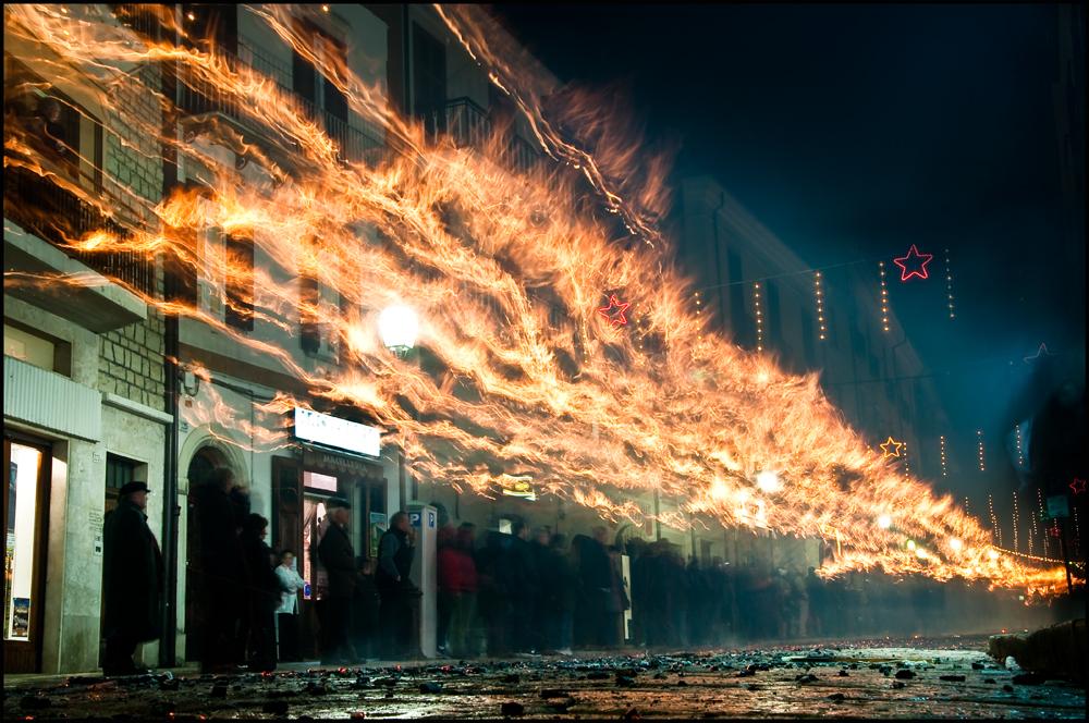 la lingua di fuoco